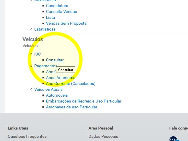 Consultar IUC
