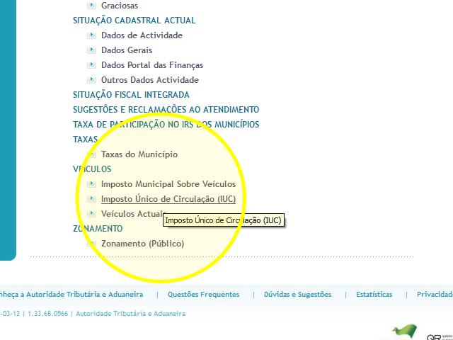 Pagamento do IUC pela internet - passo 17